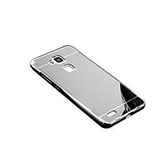 Czarne etui Powłoka / Lustro Tek Renk Akrylowy Twardy Skrzynki pokrywa Dla Huawei Huawei Mate S / Huawei Mate 8 / Huawei Mate 7