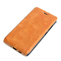 For Asus Case Card Holder / Flip Case Full Body Case Solid Color Hard PU Leather ASUSAsus ZenFone Max ZC550KL / Asus Zenfone 2 Laser