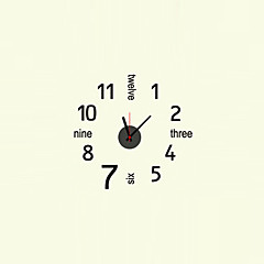Modern Style Fashion Creative Mute Wall Clock