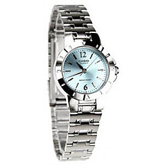 Women's Dress Watch Fashion Watch / Quartz Stainless Steel Band Casual Silver