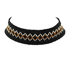 Damskie Naszyjniki choker Nylon Modny Osobiste Black Biżuteria Na Impreza Codzienny Casual 1szt