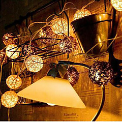 új led chinlon fény string üdülési kertre lámpa sorozat 10lamp tartó