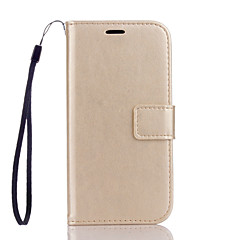 PU Leather Material Plain Solid Color Phone Cases for LG K10/K7/G3/G4