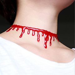 Halloween Bloodstains Statement Necklaces Daily / Casual 1pc