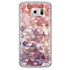 Για Samsung Galaxy S7 Edge Εξαιρετικά λεπτή / Ημιδιαφανές tok Πίσω Κάλυμμα tok Γεωμετρικά σχήματα Μαλακή TPU SamsungS7 edge / S7 / S6