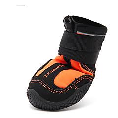 Perros Zapatos y Botas Verde / Naranja Ropa para Perro Invierno / Verano / Primavera/Otoño Un Color A Prueba de Agua Other