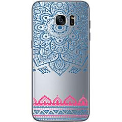 Na Samsung Galaxy S7 Edge Przezroczyste / Other Kılıf Etui na tył Kılıf Geometryczny wzór Miękkie TPU SamsungS7 edge / S7 / S6 edge plus