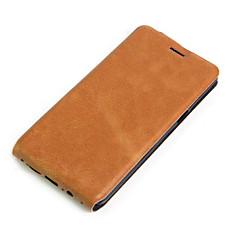 Para Capinhas OnePlus Porta-Cartão / Flip Capinha Corpo Inteiro Capinha Cor Única Rígida Couro PU One Plus One Plus 3