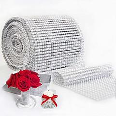 Rund Polkaprikker Servietring , Plast MaterialeBryllup Party Dekoration Bryllup Banket Middag Juledekoration, gaver til gæsterne Tabel
