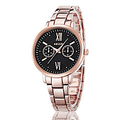 Damen Modeuhr Armband-Uhr Quartz Japanischer Quartz Legierung Band Bequem Gold Rotgold Marke KEZZI
