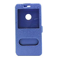 Για Θήκη Huawei / P9 / P9 Lite / P8 / P8 Lite / Mate 8 με παράθυρο / Ανοιγόμενη tok Πλήρης κάλυψη tok Μονόχρωμη Σκληρή Συνθετικό δέρμα