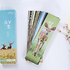 Boxed Bookmark Love Animal Deer(30PCS)
