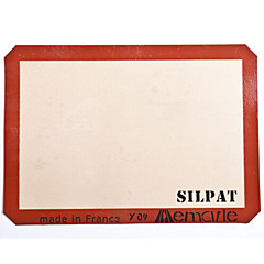 siliconen bakken mat half-size 42 * 29.5cm Silpat non-stick siliconen bakplaat