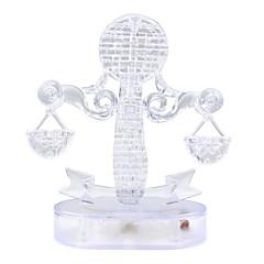 puslespil 3D-puslespil / Krystalpuslespil Byggesten DIY legetøj 42pcs Plastik Model- og byggelegetøj