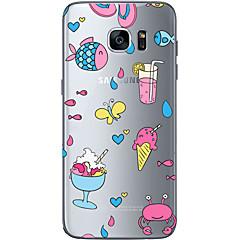 Na Samsung Galaxy S7 Edge Przezroczyste / Other Kılıf Etui na tył Kılıf Owoc Miękkie TPU SamsungS7 edge / S7 / S6 edge plus / S6 edge /