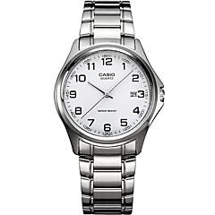 Hombre Reloj Deportivo Reloj de Vestir Reloj de Moda Cuarzo / Acero Inoxidable Banda Casual Plata Plata