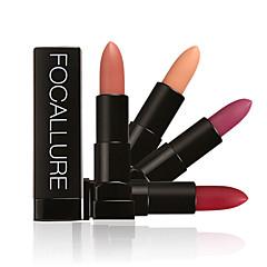 Lipsticks Mat / Mineraal Kaki Langdurig / Waterbestendig / Naturel / Snel Drogend Mosterd 1 FOCALLURE