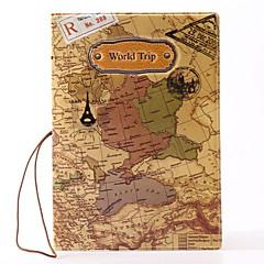 Voyage Etui à Passeport & Pièce d'Identité Protège Passeport Rangement de Voyage Etanche Résistant à la poussière Portable PVC