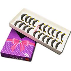 Kirpikleri Kirpik Tam Şerit Kirpikler Eyes Kalın Hacimlendirilmiş Elyapımı Fiber Black Band 0.10mm 11mm