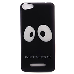 For Wiko Lenny3 Lenny2 Phone Case Cover Big Eyes Pattern Painted TPU Material for Wiko U FEEL U FEEL Lite Sunny Jerry