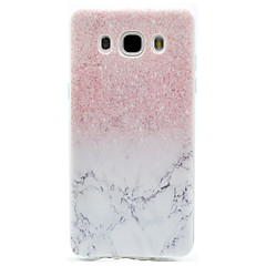Marble Pattern TPU High Purity Translucent Openwork Soft Phone Case for Samsung Galaxy J310 J510 J710 G530 G360