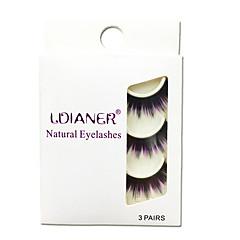 Kirpikleri Kirpik Tam Şerit Kirpikler Eyes Kalın Renkli Elyapımı Fiber Black Band 0.07mm 14mm