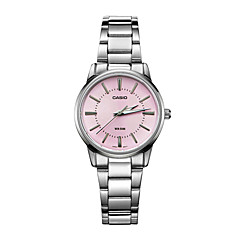 Women's Fashion Watch Water Resistant / Water Proof Quartz Stainless Steel Band Casual Luxury Silver