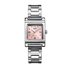 Women's Fashion Watch Casual Watch Water Resistant / Water Proof Quartz Stainless Steel Band Casual Silver