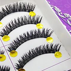 Kirpikleri Kirpik Tam Şerit Kirpikler Eyes Kalın Hacimlendirilmiş Elyapımı Fiber Black Band 0.10mm 10mm