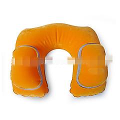 Travel Pillow Travel Rest for Travel Rest Polyester-Orange Dark Blue Gray