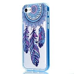 Til iPhone 8 iPhone 8 Plus iPhone 7 iPhone 6 iPhone 5 etui Etuier Transparent Mønster Bagcover Etui Drømme fanger Blødt TPU for Apple