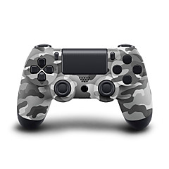 Wireless Bluetooth Gamepad Game Controller for PS4 (Blue/Red/White/Black/Camouflage)