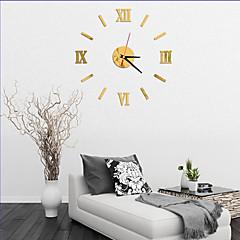 Moderno/Contemporáneo Oficina/ Negocios Casas Familia Escuela/Graduación Amigos Reloj de pared,Novedad Acrílico Vidrio 40 Interior Reloj