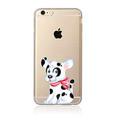 Lovely dog Pattern TPU Soft Case Cover for Apple iPhone 7 7 Plus iPhone 6 6 Plus iPhone 5 5C iPhone 4