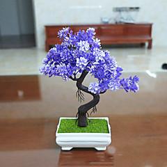 Set of 1 PCS 1 haara Polyesteri Kasvit Pöytäkukka Keinotekoinen Flowers Long 9.4(inch)