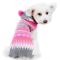 Pies Swetry Ubrania dla psów Urocza Zatrzymujący ciepło Naszywka