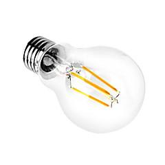 1pcs 4w A60 e27 ha condotto la lampadina a filamento lampadine erba chiara Edison dell'interno ha condotto l'illuminazione 110 / 240v