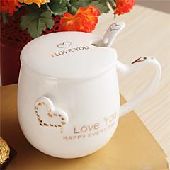Teekupit / Vesipullot / Kahvimukit / Tee ja juoma 1 PC Keraaminen, -  Korkealaatuinen