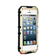 Na Woda / Dirt / Shock Proof Kılıf Futerał Kılıf Jeden kolor Twarde Metal AppleiPhone 7 Plus / iPhone 7 / iPhone 6s Plus/6 Plus / iPhone