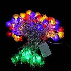 60-LED 3M Star Light Waterproof  Plug Outdoor Christmas Holiday Decoration Light LED String Light