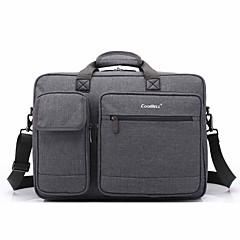 sac à main 17,3 pouces multi-compartiment épaule portable sac pour dell / hp / sony / acer / lenovo / surface etc