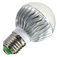 YWXLight E14 / E26/E27 / B22 5W 3 High Power LED 400lm RGB Dimmable / Remote-Controlled LED Globe Bulbs AC 85-265 V