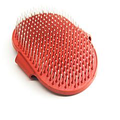 Gatto / Cane Toelettatura / Assistenza sanitaria / Pulizia Elastici Animali domestici Prodotti per toelettatura Casual Rosso Pelle