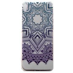 Do SONY Xperia xa obudowa pokrywa purpurowy campanula wzór malowany tpu materiału przypadku telefonu