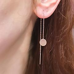 Σκουλαρίκι Κρεμαστά Σκουλαρίκια Κοσμήματα Γυναικεία / Ζεύγος Halloween / Γάμου / Πάρτι / Καθημερινά / Causal Κράμα 1 ζευγάρι Χρυσαφί