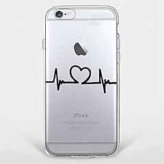 Electrocardiogram TPU Case For Iphone 7 7Plus 6S/6 6Plus/5S SE