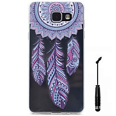 For Samsung Galaxy A5 A3 (2016) Case Cover Wind Chimes Pattern Super Soft Painting High Permeability TPU Material Phone Case  Touch Screen Pen
