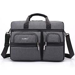 15,6 ιντσών multi-διαμέρισμα laptop τσάντα ώμου με ιμάντα notebook τσάντα χειρός για macbook 13.3 15.4 ιντσών φορητό υπολογιστή