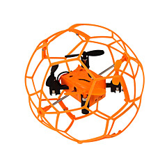 Drone Helic Max 1340 4CH 6 Axis 2.4G - RC Quadcopter LED Lighting / One Key To Auto-Return / Headless Mode / 360°Rolling Green / Orange