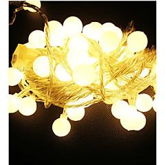 10m 100 førte 220v vandtæt IP65 udendørs flerfarvet førte streng lys julelys dekoration ferie bryllupsfest